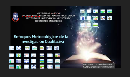 ENFOQUES METOOLÓGICOS MAGJELL
