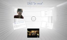 """ZAZ """" Je veux"""""""
