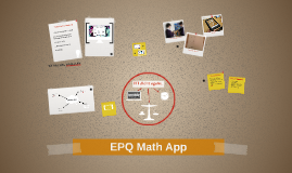 Copy of EPQ Maths App