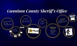 Gunnsion County Sheriff