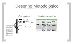 desenho metodológico