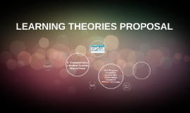 LEARNING THEORIES PROPOSAL