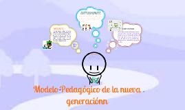 MI MODELO PEDAGOGICO