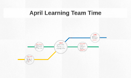 April Learning Team Time