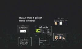 TRABAJO FÍSICA Y QUÍMICA - PRIMER TRIMESTRE