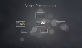 Aspire Presentation