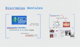 Discromias Dentales