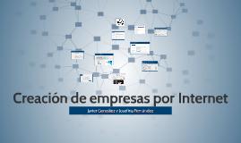 Creación de empresas por Internet