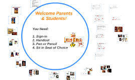Welcome Parents & Students!