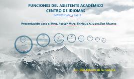 Copy of Funciones Asistente Académico Centro de Idiomas