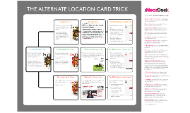 The Alternate Location Card Trick