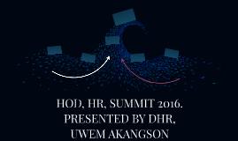 HOD, HR, SUMMIT 2016.