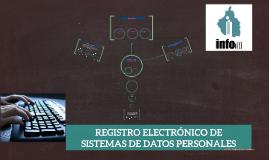 REGISTRO ELECTRÓNICO DE