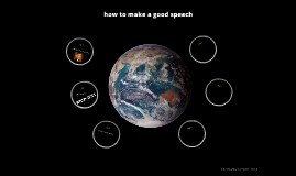how to make a good speech