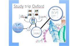 Studytrip Engeland