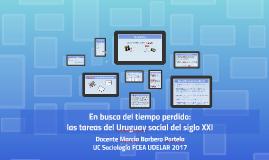 En busca del tiempo perdido: las tareas del Uruguay social d