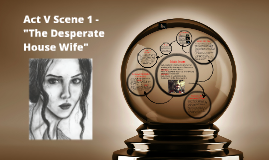 "Act V Scene 1 - ""The Desperate House Wife"""