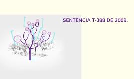 Presentación Sentencia T-388 de 2009