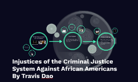Injustices of the Criminal Justice System Against African Americans