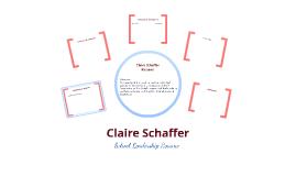 Claire Schaffer Resume