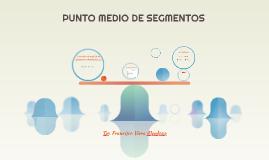 PUNTO MEDIO DE SEGMENTOS