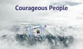 coragous people