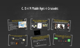 C. 13, 14, & 17 Middle Ages, Renaissance, & Reformation