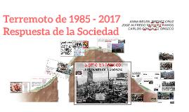 Terremoto de 1985 - 2017