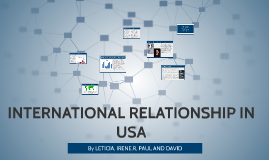 INTERNATIONAL RELATIONSHIP IN USA