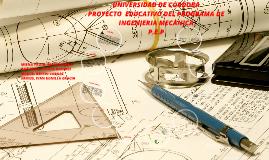 Copy of PROYECTO  EDUCATIVO DEL PROGRAMA DE INGENIERIA MECANICA