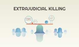 Copy of EXTRAJUDICIAL KILLING