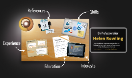 Desktop Prezumé by Helen Rowling