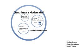 Copy of Cientifismo y Modernidad