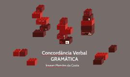 Copy of Concordância Verbal