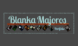 Copy of Blanka Majoros - Portfolio