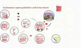 Architettura (opere pubbliche) nell'Antica Roma