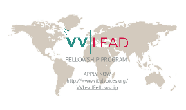 Apply for the 2015 Class of the VVLead Fellowship Program