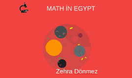 MARTH İN EGYPT