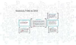 Sentencia T-582 de 2013