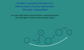 Student Learning Outcomes in Information Literacy Instruction: 'Virtually' Impossible?