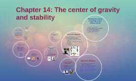 Copy of Chapter 14: The center of gravity and stability