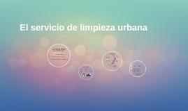 El servicio de limpieza urbana