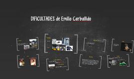 DIFICULTADES de Emilio Carballido
