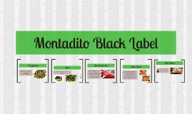 Montadito Black Label