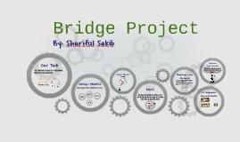 Bridge Project by Shariful Sakib