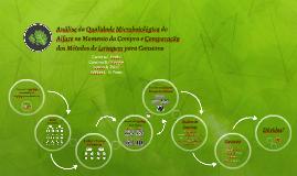 Análise da Qualidade Microboiológica do Alface no Momento da