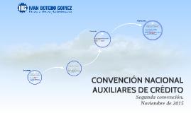 CONVENCIÓN AUX. CRÉDITO