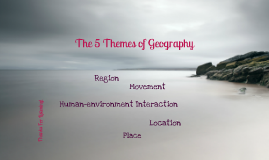 Copy of ~ Geography ~