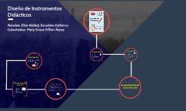 Diseño de Instrumentos Didácticos