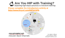 Are You HIP with Training?